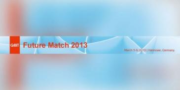 Giełda kooperacyjna Future Match 2013 na targach CeBIT 5-9 marca 2013 r., Hanower (Niemcy)